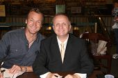 LOS ANGELES - AUG 18:  Doug Davidson, Michael Maloney at the book signing for William Bell Biography