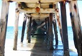 Under The Wool Bay Jetty