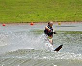 Girl Water Skiing