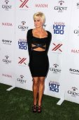 JLOS ANGELES - MAY 15:  Kellie Pickler arrives at the 2013 Maxim Hot 100 Party at the Vanguard on Ma