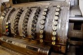 Old Bulky Vintage Cash Register