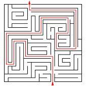 Labyrinth 20x20