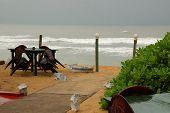 Beach Restaurant During Off-season