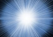 Explosão azul