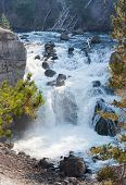 Cascata Rio Firehole de Yellowstone