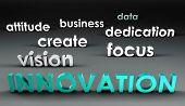 Innovatie in de voorhoede in 3d presentatie