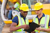stock photo of industrial safety  - construction co - JPG