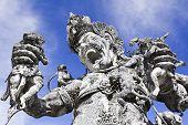 Kumbakarna Laga Statue
