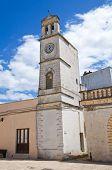Clocktower. Felline. Puglia. Italy.