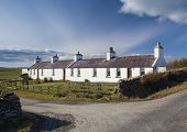 Traditional Scottish cottages