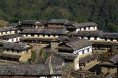 Beautiful Gurung village Ghandruk