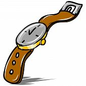 Mechanical retro watch