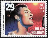 Billie Holiday Stempel