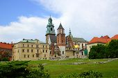 WawelCathedral on the Wawel Hill in Krakow (Cracow)