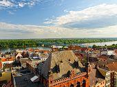 Panorama Of Torun, Poland.