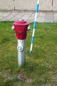 OLOMOUC, CZECH REPUBLIC CIRCA MAY 2009 - Fire hydrant