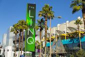 The Linq Sign In Las Vegas, NV On January 04, 2014