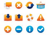 Professional icons for websites