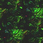 abstract vintage green avant-garde watercolor seamless texture h