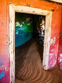 Sand In Abandoned House In Kolmanskop Ghost Town