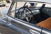 1952 Chevy Deluxe Blue Interior