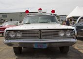 1968 Ford Galaxie Milwaukee Polizei Auto Frontansicht