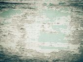 Wood Grain With Old Painting Background