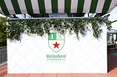 Heineken Beer House at Billie Jean King Tennis Center during US Open 2013