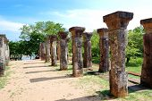 stock photo of polonnaruwa  - The Polonnaruwa ruins  - JPG