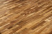 Wood Texture - American Walnut Parquet Floor