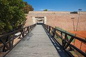 BELGRADE, SERBIA - AUG 15: Entrance to Belgrade fortress on August 15, 2012 in Belgrade, Serbia. It