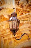 Old street light in Mdina