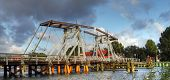 Historic bridge near Greifswald, Germany