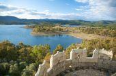 Granadilla Lake From The Castle