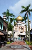 JANUARY 5, 2014, SINGAPORE: Sultan Mosque is one of Singapore's most imposing religious buildings