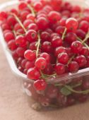 Redcurrants In Packaging