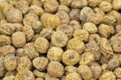 foto of clos  - Tigernuts closeup traditional snack nut clos - JPG