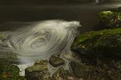 Whirlpool, The Dingle Nature Reserve Llangefni. Long Exposure.