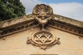 Star Of David On Monument