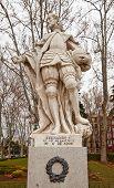 Постер, плакат: Статуя короля Фердинанда I Великий ОК 1753 Мадрид Испания