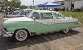 1956 Ford Fairlane Crown Victoria Green White