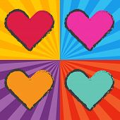 Pop Art Heart