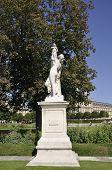 Statue in Tuilerie Garden in Paris