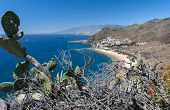 picture of canary-islands  - Playa de Las Teresitas, a famous beach near Santa Cruz de Tenerife in the north of Tenerife, Canary Islands, Spain