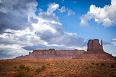 Magic Panoramic View Monument Valley