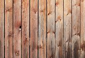 Uncolored Old Wooden Wall. Background Photo Texture