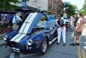 1965 Shelby Cobra At Rolling Sculpture Show 2013
