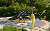 University Of Michigan Survival Flight Helicopter 2014