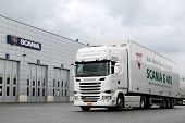 Scania R410  Euro 6 V8 Semi Truck