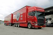 Scania R730 Euro 6 V8 Woodchip Truck